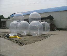 Fedex geben populäre Wasser-gehenden Ball PVC-aufblasbaren Ball zorb Kugelwasser-Wegball-Tanzenball-Sportball-Wasserball 1.3m 1.5m 1.8m 2m frei