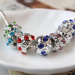 $enCountryForm.capitalKeyWord Australia - Many Color Shining Space Unique Charm Bead Big Hole Fashion Women Jewelry European Style For DIY Bracelet Necklace