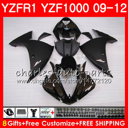 $enCountryForm.capitalKeyWord Australia - Body For YAMAHA YZF 1000 R 1 Glossy black YZFR1 09 10 11 12 Bodywork 85NO51 YZF1000 YZF R1 2009 2010 2011 2012 YZF-1000 YZF-R1 09 12 Fairing