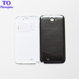 samsung note battery NZ - Back Cover Case For Samsung Galaxy Note 2 N7100 Note2 Battery Door Rear Housing Black White