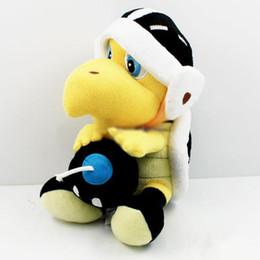 "Stuffed Plush Turtle UK - Hot Sale 8"" 20cm Super Mario Bros Koopa Troopa Skull Turtle Plush Doll Stuffed Toy For Child Best Gifts"