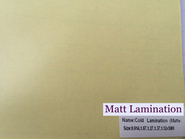 Self adheSive printS online shopping - Matte lamination transparent film use for printed vinyl laminted self adhesive s