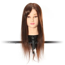 Hair Salon Wigs Canada - Fashion Hot Adjustable Hairdressing Stands Clamp Salon Styling Tools Hair Model Mannequin Holder Wig Training Head Mold Tripod
