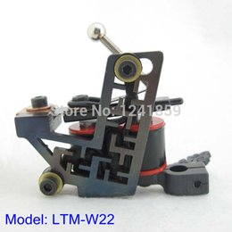 Tatouage De La Bobine Pas Cher-Liner Tattoo gros-main Fer Luo Machine Gun 10 Wraps Coil Supply LTM-W22 #