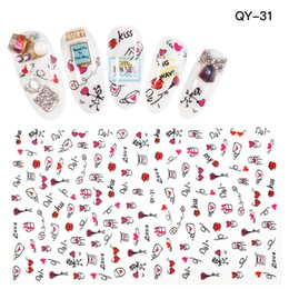 Kiss nail art designs online kiss nail art designs for sale high quality cute kiss nail art stickers decals nail girl design stickers beauty decor 30pcs lot prinsesfo Image collections