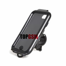 IPhone 6 Motosiklet Bisiklet Montaj Tutucu + Su Geçirmez Sert Sabit Dağı Kılıf iphone 5 s Galaxy S3 Galaxy S4 iPhone 6 Artı Ücretsiz Kargo
