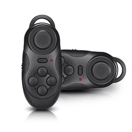 Chinese  New 4 in1 Mini Wireless Portable Bluetooth Remote Gamepad Game Controller Joystick For Samsung Gear VR Virtual Reality Glasses manufacturers