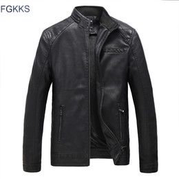 $enCountryForm.capitalKeyWord Canada - Wholesale- FGKKS New Men's Brown Genuine Leather Jackets Men Genuine Real Cowhide Brand Male Bomber Motorcycle Biker Coats