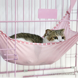 Multi Color Hand Bag Australia - 35*35CM 53*38CM Cat Cage Hanging Hammock Candy Color Spring Summer Thin Sleeping Bag Pet Cat Sofa Hamster Hammock