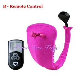 $enCountryForm.capitalKeyWord Canada - Hot 10 Speed Vibrating Panties Wireless Remote Control Strap On C-String Underwear Vibrator Sex Toys for Woman Sex Products