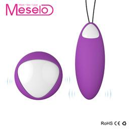$enCountryForm.capitalKeyWord Canada - Meselo Remote Control Vibrator Ball, USB charge Wireless Vibrating Vaginal Clitoris Massager Bullet, Adult Sex Toys For Woman