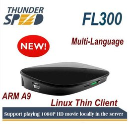 Il più recente computer Cloud Thin Client ARM FL300 Dual Core 1Ghz 512 MB di RAM Protocollo RDP Embedded 3.0 per Linux 3.0 on Sale