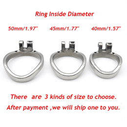 $enCountryForm.capitalKeyWord Australia - NEW Different Inner Diameter Ring Accessories for Male Chastity Belt Lock Device #R69