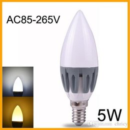 Candle Bright NZ - Super bright LED Candle Light E14 5W SMD2835 AC85-265V LED Lamp Bulb High Luminous high CRI LED Light with CE RoHS approved