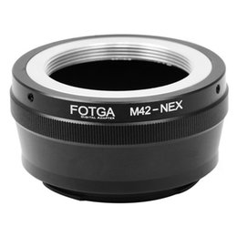 Nex e mouNt online shopping - FOTGA M42 mm Lens To Sony E Mount NEX NEX5 NEX EX N NEX C Adapter Ring
