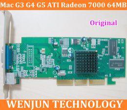 Video Card 256 NZ - Free Shipping Original forMac G3 G4 G5 graphic card ATI Radeon 7000 64MB AGP Video Card VGA 2X  4X  8X order<$18no track