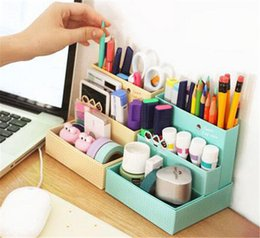 $enCountryForm.capitalKeyWord Canada - DIY Paper Board Storage Box Desk Decor Stationery Makeup Cosmetic Organizer
