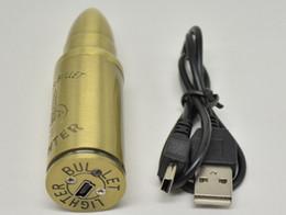 $enCountryForm.capitalKeyWord UK - 2015 Electronic Cigarette Lighters Rechargeable USB Lighters Flameless Windproof lighter Bullet shape lighter USB lighter