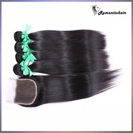 $enCountryForm.capitalKeyWord Canada - Brazilian Hair Malaysian Cambodian Peruvian Indian Straight Hair extensions With Closure Hair Bundles Dyeable Best Quality Hair Weave