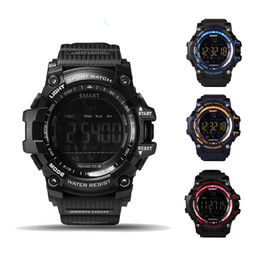 waterproof bluetooth smart watch wristwatch NZ - Time Owner EX16 Bluetooth Smart Watch Sports Watches 50M Deep IP67 Waterproof Wristwatch Call Message Reminder Fitness Tracker Smartwatch