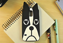 $enCountryForm.capitalKeyWord Canada - 3D Cartoon Lovely Animal Black Dog Shape Soft Silicone Rubber Back Case Cover Compatible With Samsung Galaxy S5 I9600