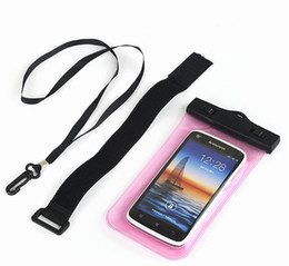 $enCountryForm.capitalKeyWord Canada - Universal Clear View Waterproof Diving Pouch Case Cover Bag Armband Sport Case For iPhone 6 Plus Samsung Galaxy s6 edge