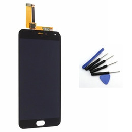 Chinese  Wholesale-Black For MeiZu M2 Meilan Note 2 LCD Display Touch screen with Digitizer glass panel assembly + Free tools , Free shipping !!! manufacturers