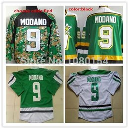 ... Embroidery 2016 Dallas Stars 9 Mike Modano Jersey Stitched Vintage Home  Green Hockey Ice Jerseys White CCM ... 276b90f47