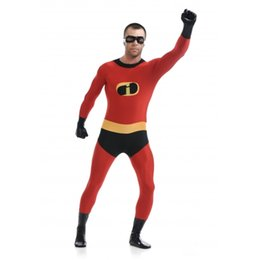 $enCountryForm.capitalKeyWord UK - Red Classic Mr Superhero Cosplay Costume Zentai Bodysuit Suit Halloween Party Jumpsuits Costume