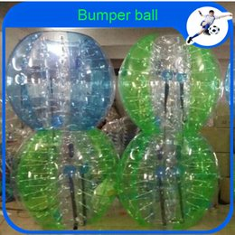 inflatable balls suits 2019 - Wholesale-CE Dia 1.2m PVC Inflatable Ball Suit,Bumper Ball,Loopyball Bubble Soccer For Colombia cheap inflatable balls s