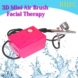 nail art care tools brush Australia - Mini AirBrush Skin Care makeup tool Facial Therapy Beauty Device Air brush Kit Spray Tattoo Nail Art Paint Gun Water Skin Instrument