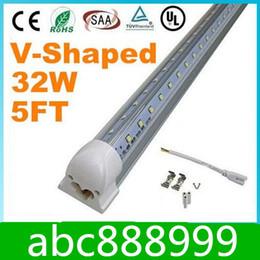 $enCountryForm.capitalKeyWord NZ - Integrated Cooler Door 5ft 1.5m 1500mm 32W Led T8 Tube SMD2835 High Bright light 5 feet 3600lm 85-265V fluorescent lighting Free shipping