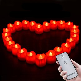 Fake battery online shopping - New Design Pack Of Flameless Candles Remote Control Battery Operated Fake Candles For Birthday Wedding Decoration