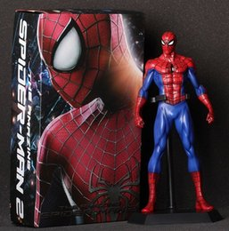 super man spider toy NZ - Marvel Crazy Toys Super Heros Spiderman The Amazing Spider-man PVC Action Figure Collectible Model Toys Doll 24CM