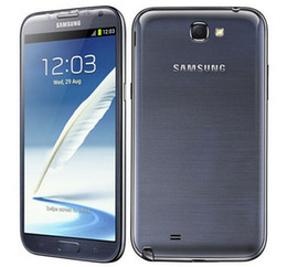 refurbished mobiles phones 2019 - Original Samsung Galaxy Note 2 N7100 N7105 Mobile Phone Quad Core 2GB RAM 16GB ROM 3G 4G Refurbished Phone Unlocked chea