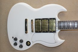 $enCountryForm.capitalKeyWord Canada - Custom Shop SG White ( Changed to 2 Pickups with Ebony Fingerboard and Bone Nut ) Golden Hardware Electric Guitar Free Shipping
