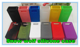 $enCountryForm.capitalKeyWord Canada - Colorful Silicone Case for Sigelei Snow Wolf 200W Box mod Protective Case Fit Snowwolf TC 200W E Cigarette Rubber Sleeve Protective CoverDHL
