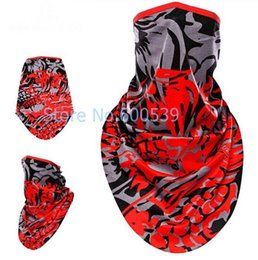 Masque Triangulaire Pas Cher-Gros-Dragon Cycling Masque respirante Absorb Sweat antipoussière Foulard Bandana Vélo Triangle Biker Sport Outdoor