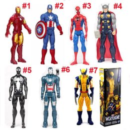$enCountryForm.capitalKeyWord Canada - 30cm The Marvel Avengers Figure Super Hero Captain America 3 SpiderMan Iron Man Action Figures Boy Toys Gifts