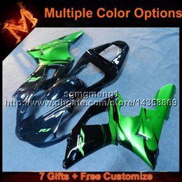 $enCountryForm.capitalKeyWord NZ - 23colors+8Gifts GREEN motorcycle fairing for Yamaha YZFR1 2000-2001 00 01 YZF R1 motorcycle article ABS Plastic Fairings