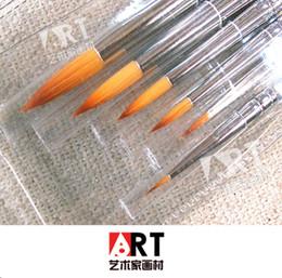 Painting Faces Australia - Wholesale-oil painting acrylic water chalk face fine line pen drawing pen hook sticks