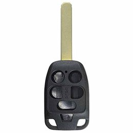 Keys Chip Shell Australia - New Remote 6 Buttons Smart Car KEY Case Shell Fob For 2011 2012 2013 Honda Odyssey Replacement Keyless Remote With 35118-TK8-A20 No Chip