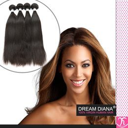 ms lula hair NZ - Ali Queen Hair Products 6a Brazilian Virgin Hair Straight 4 Pcs Lot Cheap Sexy Formula Hair Ms Lula Brazilian Virgin Hair remy weave