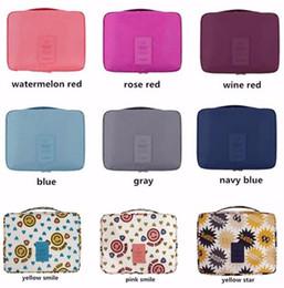Cosmetic Accessories Wholesale NZ - Women Wash Cosmetic Bag Beautician Vanity Organizer Bra Underwear Travel Necessities Toiletry Makeup Case Organizer Accessories