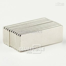 Cuboid Magnets NZ - Lots 20 pcs Super Strong Cuboid Block Magnet Rare Earth Neodymium 30mm x 10mm x 2 mm Free Shipping