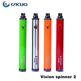 Original Vision Spinner 2 Batterie Variable Voltage Vision Spinner2 Batterie Authentique Vision Spinner 2 VV Batterie 1650mah ego batteries