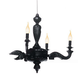 green black bedroom 2018 - Fashion Creative Resin pendant lamp Black Pendant Light Modern Simple Style Cafe Pendent Lamp Sitting Room Aisle Bedroom