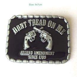 novelty rebel flags 2019 - DONT TREAD ON ME RBEL Belt Buckle Pride Rebel Flag confederate flag belt buckle southern battle flag belt buckle Free Sh