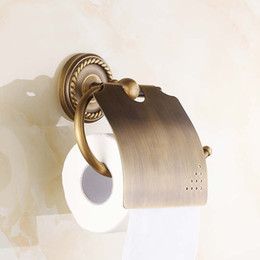 Antique tissue box online shopping - toilet paper roll rack antique roll paper holder tissue box toilet paper wall mounted new design stand holders PH001