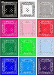 $enCountryForm.capitalKeyWord Canada - Wholesale-New 2015 New Colorful Square Bandanas Cotton Head Wrap Scarf Wristband Multicolor